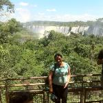 Gisse en las Cataratas Iguazu ( Lado Argentino)