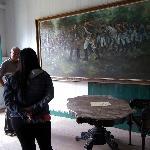 Lukisan Sejarah Pembuatan Jalan Cadas Pangeran