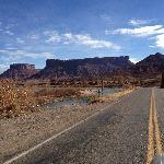 SR 182 auf dem Weg von Moab nach Fruita