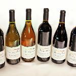 A selection of Villa del Monte wines from Los Gatos, California