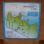 Map of Bromore Cliff Walk