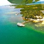 Aerial of Little Palm from the Seaplane