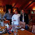 Chef Miguel, our Slovakian staff and myself