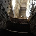 The winding staircase inside the tower