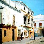La cata ciega, Old painting
