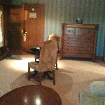 Decrepid furniture.