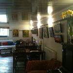 cosy, comfy, warm and welcoming with free wifi