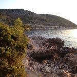 view, Villa Ruza, Island of Kolocep
