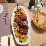 "Traditional croatian Lamb ""Peka"", Villa Ruza"