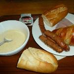 selection of breakfast items