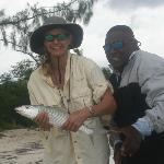 Nice bonefish from Sapodilla Cayes