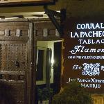 restaurante tablao flamenco cantares