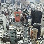 Vistas desde el piso 23, habitación superior
