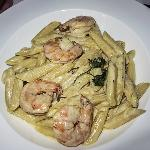 Penne with Shrimp, yummy!