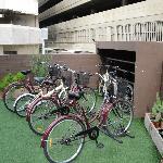 Get a loaner bike.