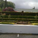 Posh garden