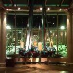 Entrance to Orangerie breakfast area