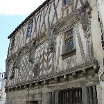 An old building in the centre of Cognac