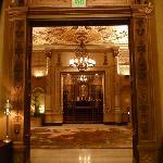 Les couloirs de l'hôtel