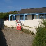 cafe at lizard point with no toilets