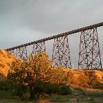 The HIgh Level train bridge.