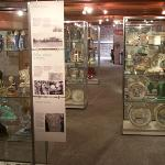 The Poole Pottery display on Floor 3 - the world's best!