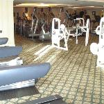 Expansive exercise room
