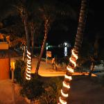 Rooftop night view of beach cabana #1