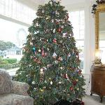 Christmas Tree in Main Parlor