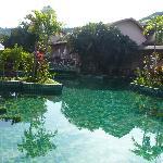 camera sulla piscina
