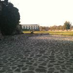 Some of the hotel grounds
