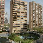 Vista del edificio / View of the building of apartments