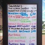 Some menu offerings