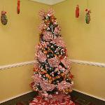 Christmas Tree in the Dinning Room