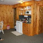 Kitchen/living area Cottage 9