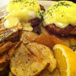 Crab Cake Benedict. Recommended!