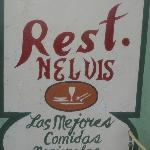 Restaurant Sign for Nelvis
