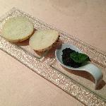 antipasto dalla cucina, pesto al basilico