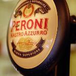 Peroni on tap