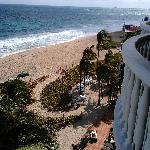 vue de la chambre ocean front