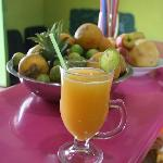one of our delicious juices