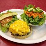 mac&cheese burger ....mmmm