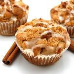 Fresh baked Cinnamon Swirl Muffins