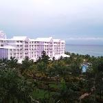 The view of the second phase of the Riu from my room which was located on the 3rd phase