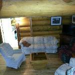 Living Room area Lodge