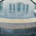 Reflection of temple in a pool