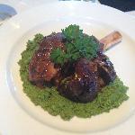 Delicious lamb shank!!!