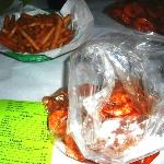 French Fries and one pound of shrimps