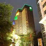 Night photo of Hotel