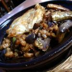 my personal favourite of eggplant and minced meat